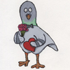 Valentine's Day Pigeon Kyle Anderson